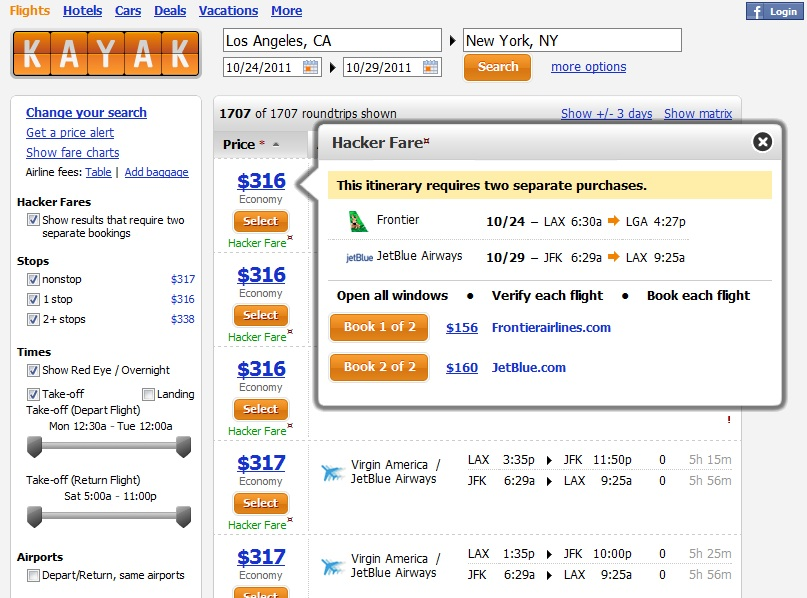 Top 4 travel booking sites for flights hostels lift tickets for Best travel booking website