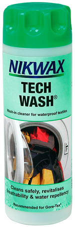 Nikwax Tech Wash - Washing Snowboard Jacket & Pants