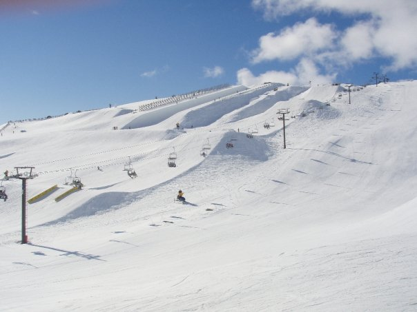 Just another day at Snowpark NZ