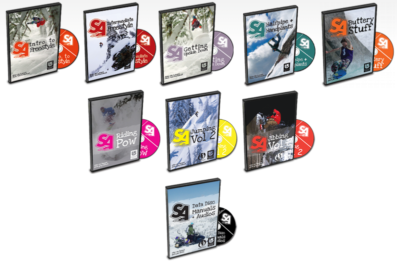 Snowboard Addiction DVDs