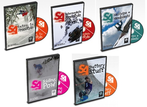 Snowboard Addiction Trick Tip DVDs