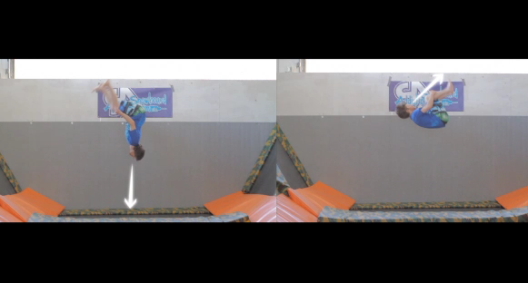 Snowboard Addiction Trampoline Training