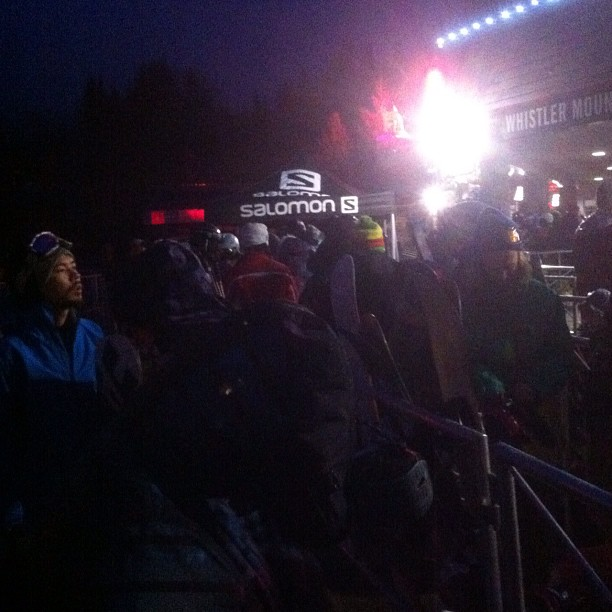 Line up @ 6am for Whistler Opening Day