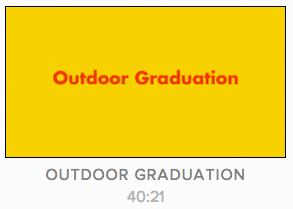 Voleurz - Outdoor Gradutation