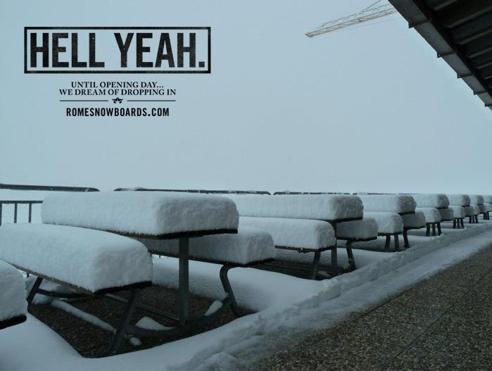 Rome Snowboards - 'Hell Yeah' theme