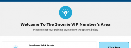 Snomie New Members Area - Sneak Peek
