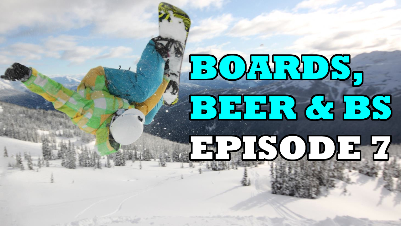 Boards, Beer & BS podcast - episode 7 - why snowboard shops are closing down
